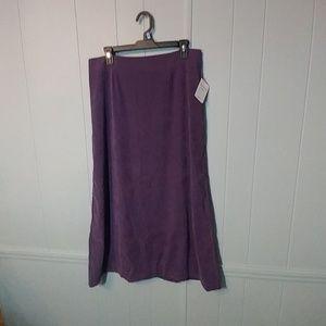 NWT Christopher & Banks Moleskin skirt